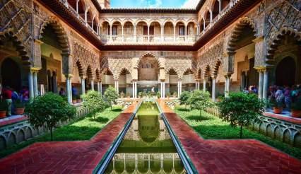 Patio de las Doncellas. Reales Alcázares de Sevilla