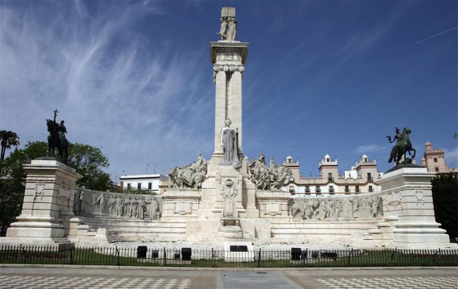 Monumento conmemorativo a la Constitución de 1812. Cádiz